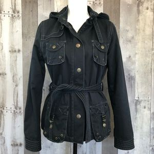 Steve Madden Hooded/Utility Style Jacket